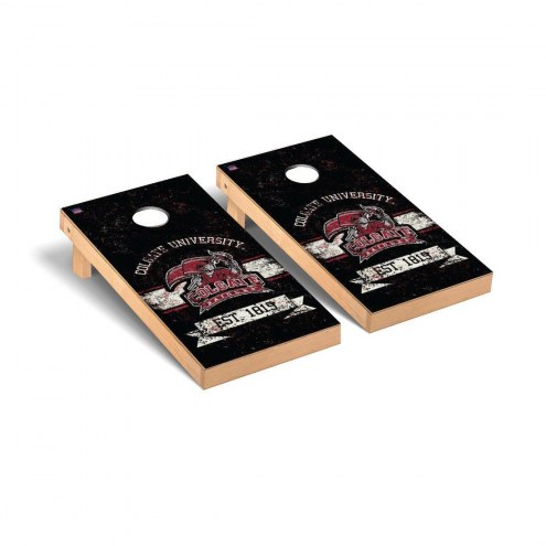 Colgate Raiders Banner Vintage Cornhole Game Set
