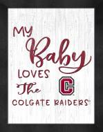 Colgate Raiders My Baby Loves Framed Print