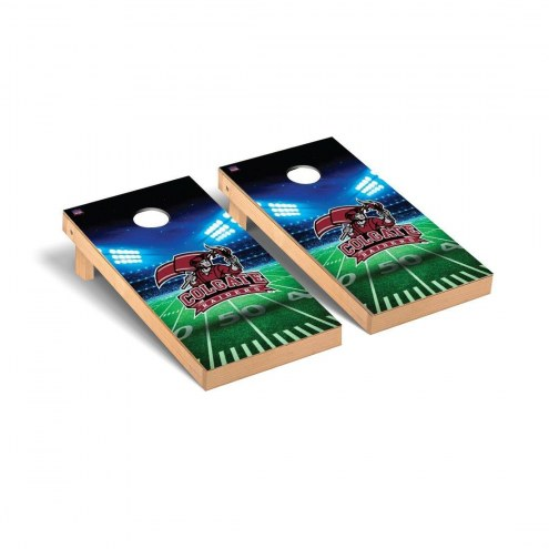 Colgate Raiders Stadium Cornhole Game Set