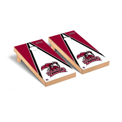 Colgate Raiders Triangle Cornhole Game Set
