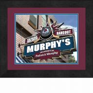Colorado Avalanche 13 x 16 Personalized Framed Sports Pub Print