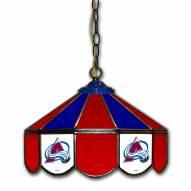"""Colorado Avalanche 14"""" Glass Pub Lamp"""