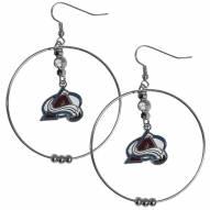 "Colorado Avalanche 2"" Hoop Earrings"