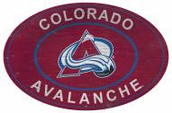 "Colorado Avalanche 46"" Heritage Logo Oval Sign"