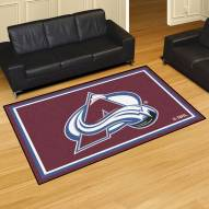Colorado Avalanche 5' x 8' Area Rug
