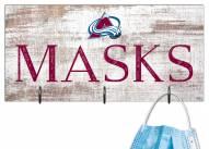 "Colorado Avalanche 6"" x 12"" Mask Holder"