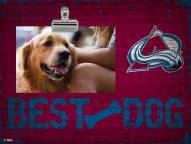 Colorado Avalanche Best Dog Clip Frame