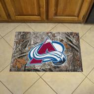 Colorado Avalanche Camo Scraper Door Mat