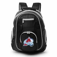 NHL Colorado Avalanche Colored Trim Premium Laptop Backpack