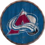 """Colorado Avalanche Cracked Color 24"""" Barrel Top"""
