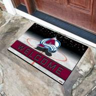 Colorado Avalanche Crumb Rubber Door Mat