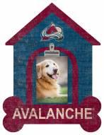 Colorado Avalanche Dog Bone House Clip Frame