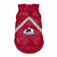 Colorado Avalanche Dog Puffer Vest