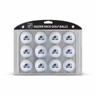 Colorado Avalanche Dozen Golf Balls