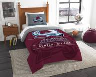 Colorado Avalanche Draft Twin Comforter Set