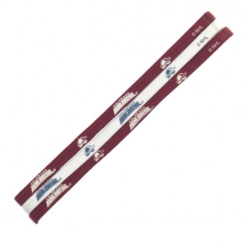 Colorado Avalanche Elastic Headband