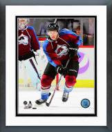 Colorado Avalanche Erik Johnson Action Framed Photo