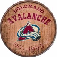 """Colorado Avalanche Established Date 24"""" Barrel Top"""