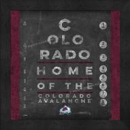 Colorado Avalanche Eye Chart