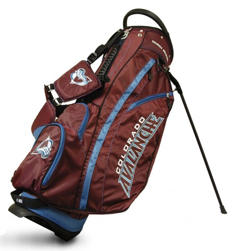 Colorado Avalanche Fairway Golf Carry Bag