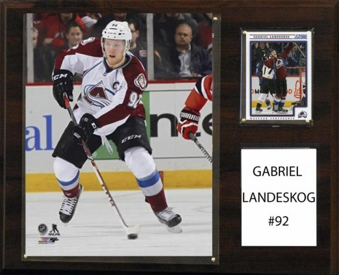 "Colorado Avalanche Gabriel Landeskog 12"" x 15"" Player Plaque"