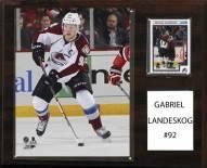 "Colorado Avalanche Gabriel Landeskog 12"" x 15"" Player Plaque"