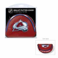 Colorado Avalanche Golf Mallet Putter Cover