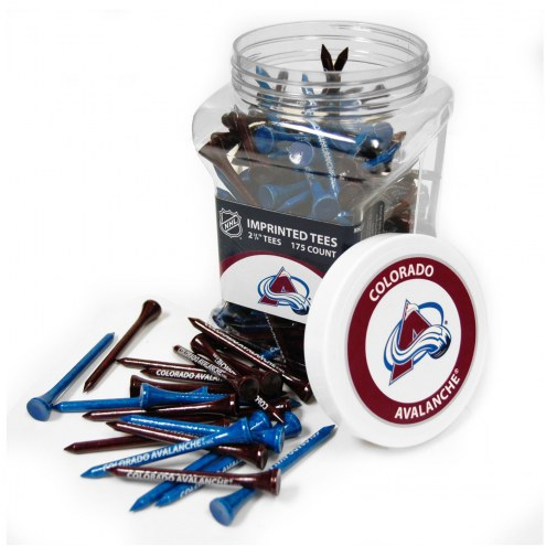 Colorado Avalanche 175 Golf Tee Jar
