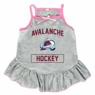 Colorado Avalanche Gray Dog Dress