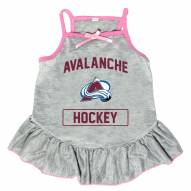 Colorado Avalanche Gray Dog Dress