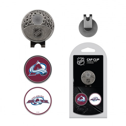 Colorado Avalanche Hat Clip & Marker Set