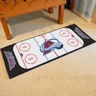 Colorado Avalanche Hockey Rink Runner Mat