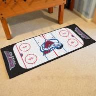 Colorado Avalanche Hockey Rink Runner Mat