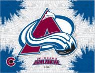 Colorado Avalanche Logo Canvas Print