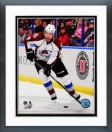 Colorado Avalanche Jan Hedja Action Framed Photo