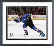 Colorado Avalanche Jarome Iginla Action Framed Photo