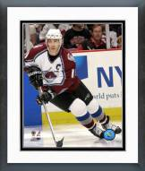 Colorado Avalanche Joe Sakic Action Framed Photo
