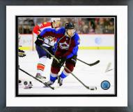 Colorado Avalanche John Mitchell Action Framed Photo