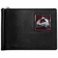 Colorado Avalanche Leather Bill Clip Wallet