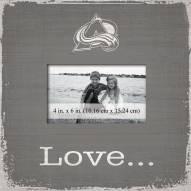 Colorado Avalanche Love Picture Frame