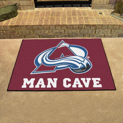 Colorado Avalanche Man Cave All-Star Rug
