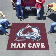 Colorado Avalanche Man Cave Tailgate Mat