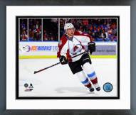 Colorado Avalanche Nate Guenin Action Framed Photo