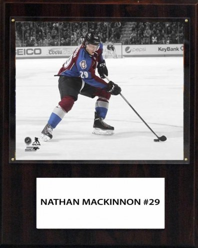 """Colorado Avalanche Nathan MacKinnon 12"""" x 15"""" Player Plaque"""