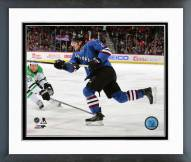 Colorado Avalanche Nathan MacKinnon Action Framed Photo