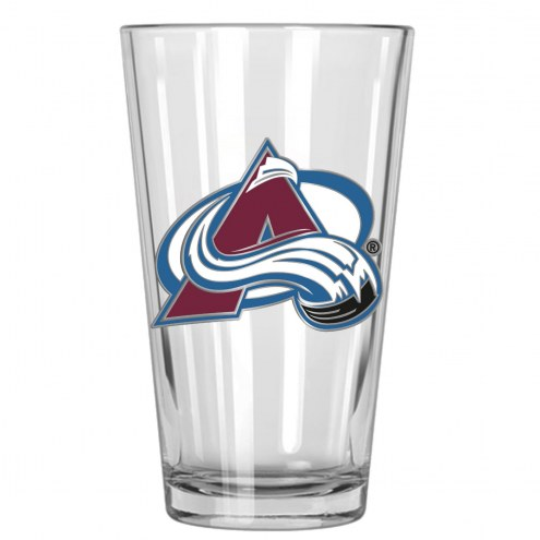 Colorado Avalanche NHL Pint Glass - Set of 2