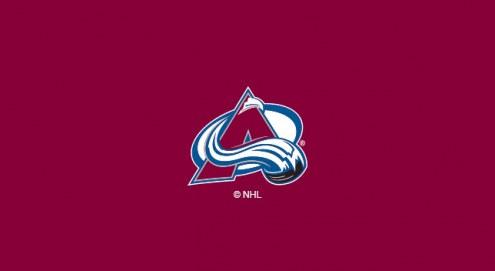 Colorado Avalanche NHL Team Logo Billiard Cloth