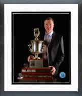 Colorado Avalanche Patrick Roy Jack Adams Award Framed Photo