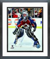 Colorado Avalanche Patrick Roy Action Framed Photo