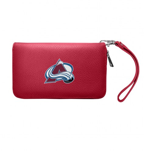 Colorado Avalanche Pebble Organizer Wallet